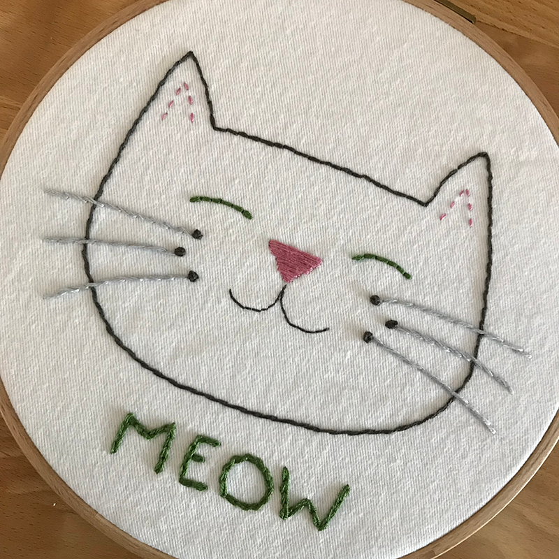 NEKO Seattle Embroidery